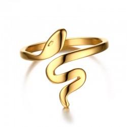 Snake Stainless Steel Ring
