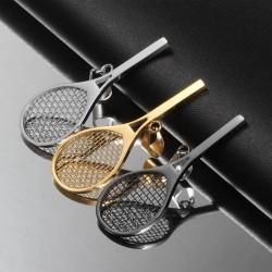 Sport Tennis Racket Pendant Necklace