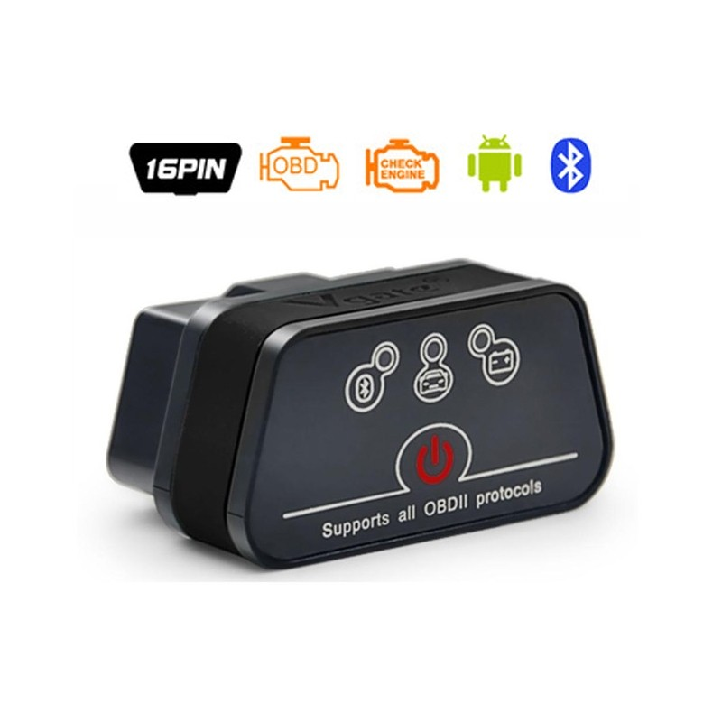 Vgate iCar Bluetooth OBD2 Scanner Diagnostico Auto Elm327 OBDII