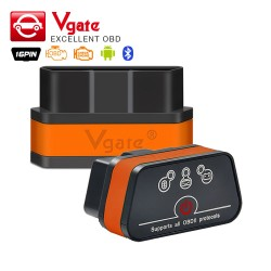 Bluetooth Scanner Diagnostique Automatique ELM327 OBDII de Vgate iCar