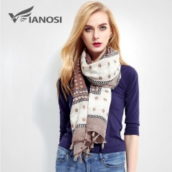 Fashion Tassel Cotton Scarf