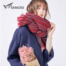 VIANOSI Warm Blanket Scarf Women Gorgeous Wrap Long Bufandas Mujer 2017 Winter Scarf Brand Shawls an