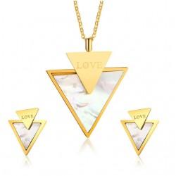Joyas Triángulos Amor Fashion
