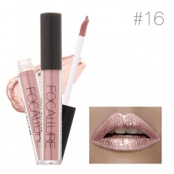 Lang Anhaltender Lippenstift Nude Gold  Metallischer Lipgloss