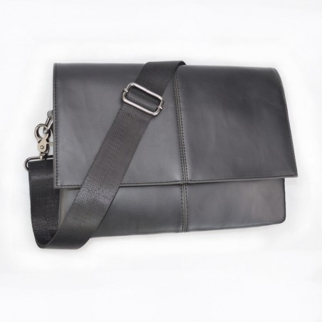 Casual Briefcase Business Shoulder Leather Bag