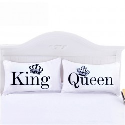 Queen & King Pillowcase Cushion Cover Case 2pcs