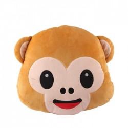 Pluszowa Małpka Emoji Poduszka Na Krzesło Siedzisko
