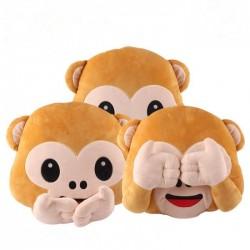 Mono de peluche - almohada de silla - juguete