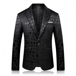 Men's Slim Fit Tailored Blazer Jacket