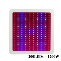 Luce per Coltivazioni 1200W LED UV IR Box Full Spectrum Hydroponic