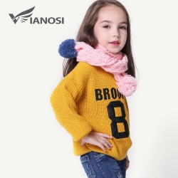 VIANOSI Wniter Baby Scarf Warm Boy Girl Scarves Children Cotton Scarf 9 Colors CH001