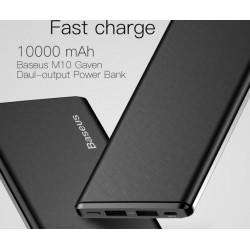 iPhone Xiaomi Mi Ultra Slim Power Bank Zewnętrzna Ładowarka Baterii 10000 mAh