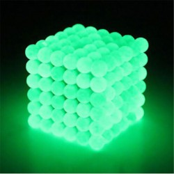 Neodym Magnete magnetische Kugeln 5mm 216 Stück Glow in the Dark