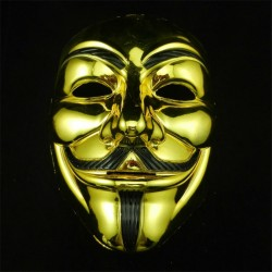 Anonymous Halloween Gezichtsmasker