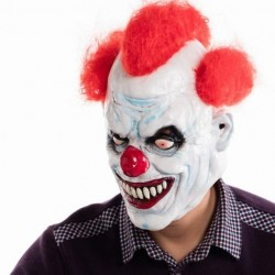 Joker Halloween Party Clown Face Mask