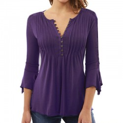 Women's Elegant Casual Top Shirt Plus Size