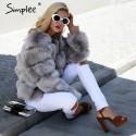 Vintage Fluffy Fur Coat
