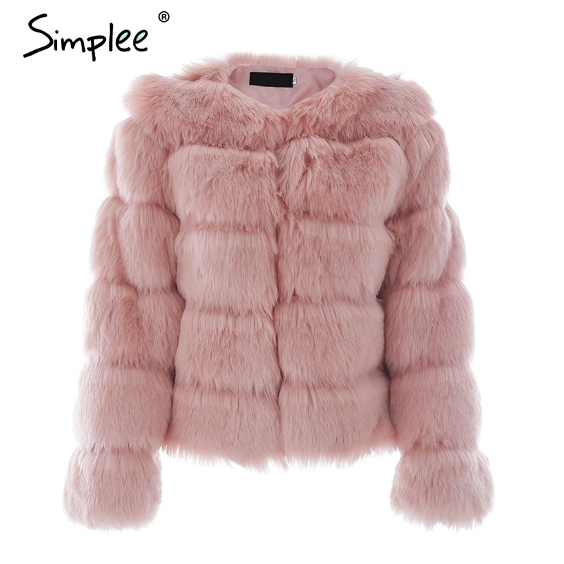 Vintage Fluffy Fur Coat