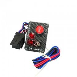 VR-QT312 Samochód Wyścigowy Elektroniczny Przełącznik Panel Przycisk Uruchamiania Silnika Zestaw  Z Akcesoriami