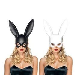 Gezichtsmasker met konijnenoren - Halloween