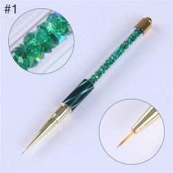 Pennello con gradiente per nail art