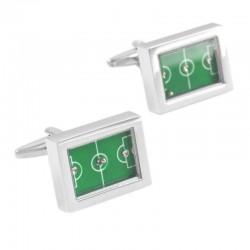 Football Field Cufflinks
