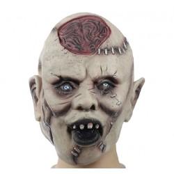 Maschera Halloween zombie in silicone