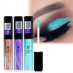 Waterproof metallic eyeshadow - liquid glitter - long lasting