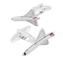 Kształt Samolotu Spinki Do Mankietów