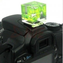 3 Axis Bubble Spirit Level Hot Shoe Adapter