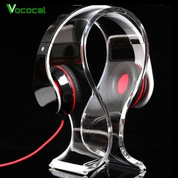 Universal Acrylic Headphone Headset Stand Hanger Holder