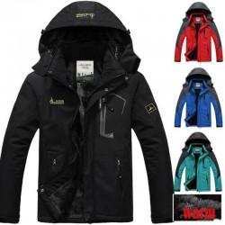 Waterproof Windproof Thick Hooded Winter Jacket