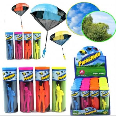 Hand Throwing Parachute Mini Soldier Toy Kite