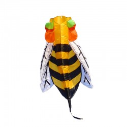 Colorful bee - nylon mite - 3 meter