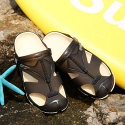 Lekkie Antypoślizgowe Sandały Klapki Na Plażę