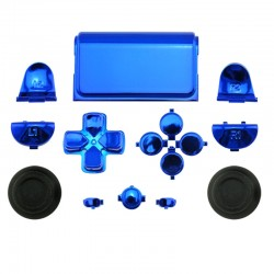 Sony PS4 Controller Chrome Replacement Buttons Set