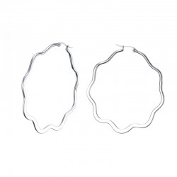 Große Ring Damen Ohrringe