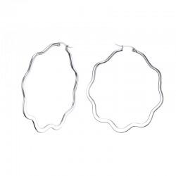 Grote ring dames oorbellen