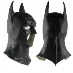 Maschera Batman in latex Halloween
