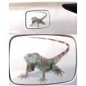 3D Spin - Schorpioen - Hagedis Auto Sticker