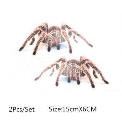 3D pająk & skorpion & jaszczurka - naklejka samochodowa