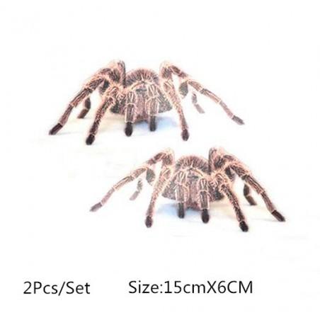 Adhesivo para coche 3D con araña y escorpiòn