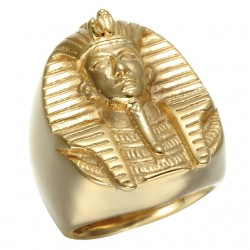 Gouden Egyptische Farao Ring