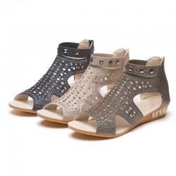 Mode Niet Gladiator Sandalen