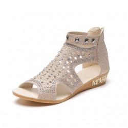 Sandalias fashion de gladiador