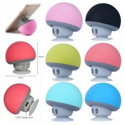 Mini grzybek - bezprzewodowy Bluetooth głośnik - wodoodporny