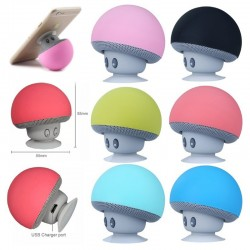 Mini Mushroom Wireless Bluetooth Speaker Waterproof
