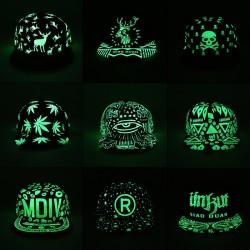 Leuchtstoff Glow In The Dark Baseball Mütze Unisex
