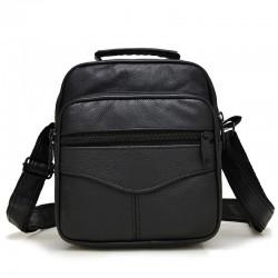 Skórzana - crossbody - torba na ramię