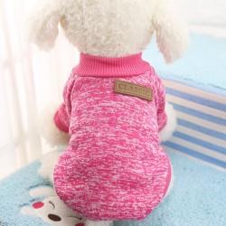 Maglione morbido per cani classico